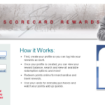 Create Profile to access Scorecard Rewards Login Page