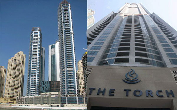 The Marina Torch Tower Fire Video – Torch Tower Dubai inside Images after Fire