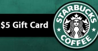 Buy Starbucks Gift Cards Online with PayPal