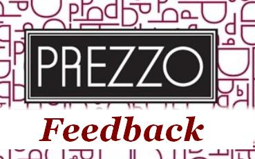 Prezzo Restaurant Guest Survey