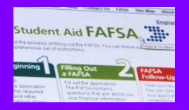 How to find help online with my FAFSA Application