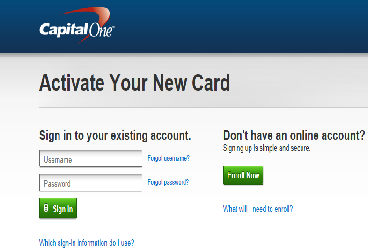 Sign up for Capital One Account