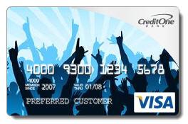 Credit One Credit Card Designs