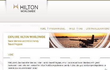 Hilton Employee Travel Program