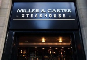 Miller and Carter Steakhouse Survey UK