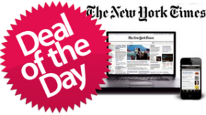 New York Times Subscription Cost