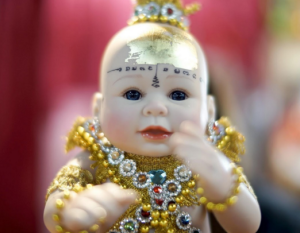 Devotees Buy Online Child Angel Doll