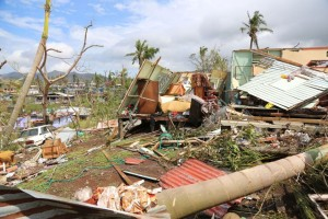 Fiji Cyclone Damage photo