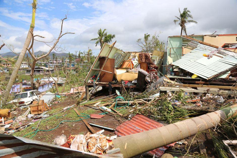 Fiji cyclone history