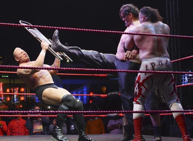 Wrestling Match in Haldwani, Uttarakhand on 25th February