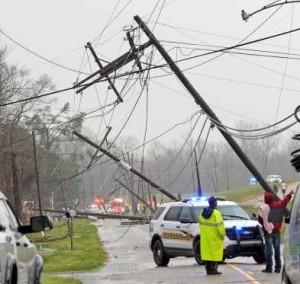 Louisiana Tornado latest photo