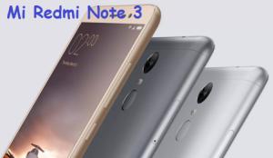 Mi Redmi Note 3 new look