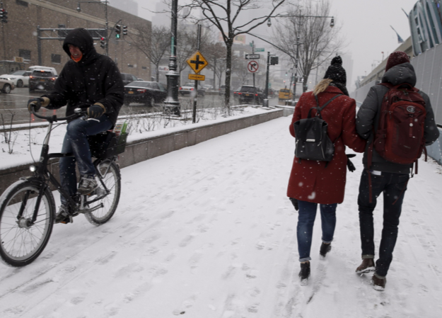 Record Shattering Cold with Freezing Rain and Snow