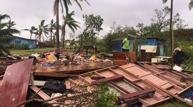 Fiji cyclone photo update