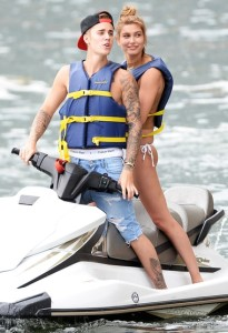 Justin Bieber and Hailey Baldwin Photo