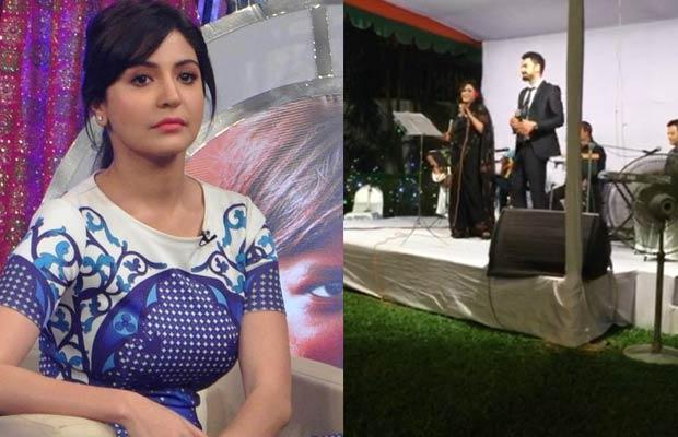 Virat Kohli singing song - Jo wada kiya wo nibhana padega