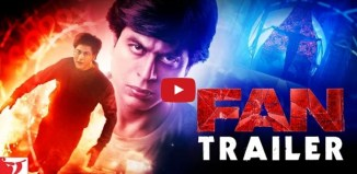 Teaser of the Movie FAN 2016: SRK's New Hindi Film Song 'Jabra FAN' and Trailer Video