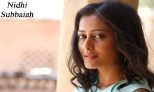 Nidhi Subbaiah Photo Images