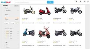 Now Buy TVS Bikes Online