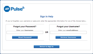 Sign in help page