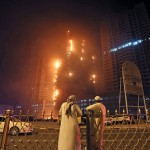 Ajman Fire Video: The Huge Fire Engulfed a High-Rise Tower in The City of Ajman, in The UAE