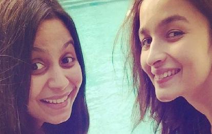 Alia Bhatt Sister Pics