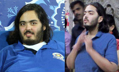 Anant Ambani New Look