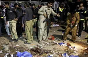 Bomb Attack Photos on Gulshan-e-Iqbal Park in Lahore City of Pakistan