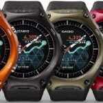 Casio WSD-F10 Price and Reviews: Casio's Rugged Android Wear Smartwatch First Look Photos