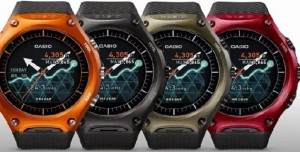 Casio WSD-F10 Android Wear Smartwatch
