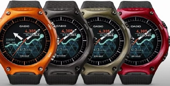 Release Date of Casio WSD-F10 Buy/ First Look Photos