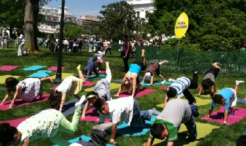 White House Easter Egg Celebration 2016 Includes Yoga Sessions Too: Watch in Video