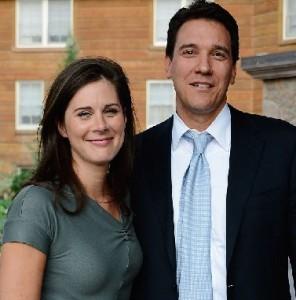 Erin Burnett with Husband David Rubulotta
