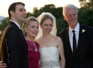 Hillary Clinton with Family