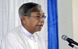 Htin Kyaw for the post of Myanmar President today
