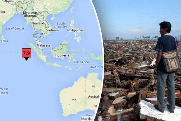 earthquake of this massive scale tsunami warning