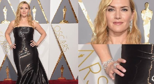 Kate Winslet Oscar Dress/ Hair/ Speech