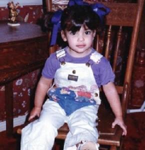 Kim Kardashian Childhood pic