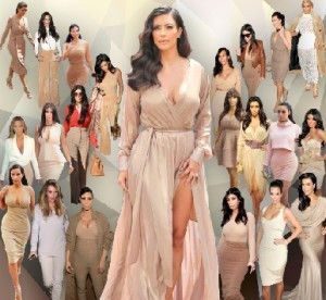 Outfits and Photos of Kim Kardashian