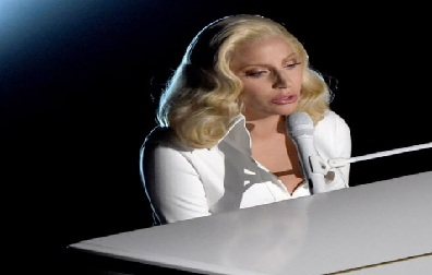 "Lady Gaga's Oscar Performance 2016 Video ""Til It Happens To You"" Song"