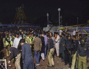 Park Attack on Lahore