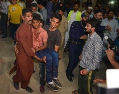 Pakistan Blast on Easter Sunday Images