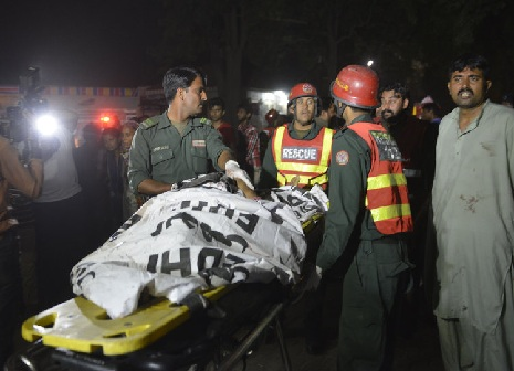 Pakistan Blast on Easter Sunday Images