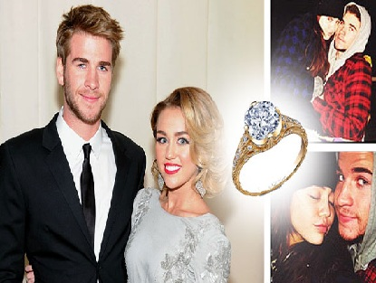 How much was Miley Cyrus Engagement Ring
