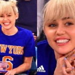 Miley Cyrus Engagement Ring Pictures, Details and Cost: Miley Showed off Her Shiny Ring during the Knicks Game