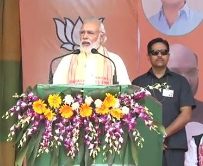 I Am Not Fighting Gogoi but Poverty and Corruption Says PM Narendra Modi