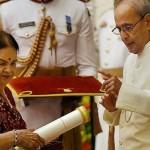 'Padma Vibhushan' Award Received by Kokilaben, Wife of Dhirubhai: Ambani Family at Rashtrapati Bhavan