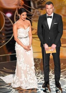 Priyanka Chopra presented the Oscars