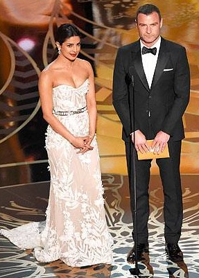 priyanka chopra dresses photos oscars 2016