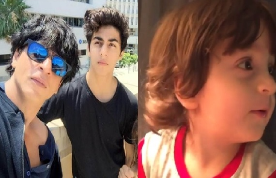 Aryan Shares Cute Video in Which Abram was Trying to Say Bhaiya Became Viral